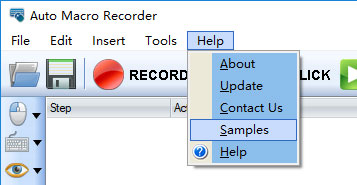 Auto Macro Recorder Help Document